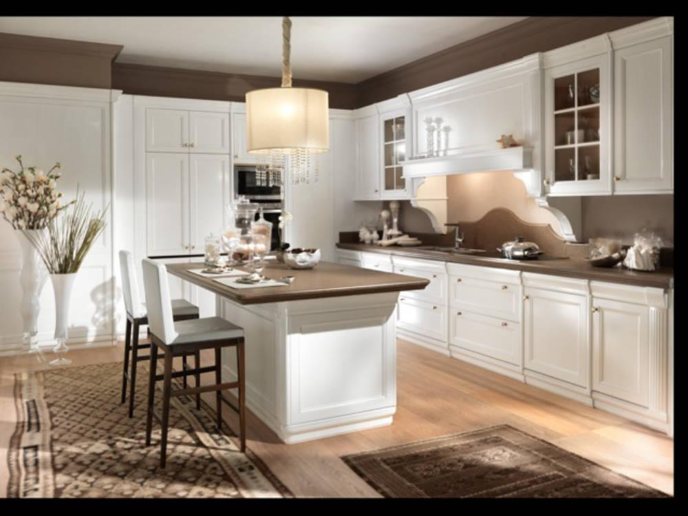 Cucina: Top cucina in Quarzo Tecnico Bianco - Scapin Pietro